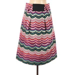 See by Chloé Multicolor Metallic Skirt